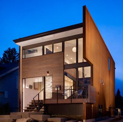 Maderas Para Fachadas. Pintura Para Fachadas Casas Perfect Casa ...