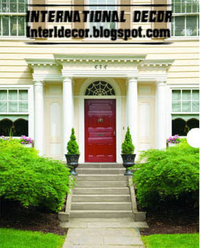 home door painting 10 ways to decorate the home entrance