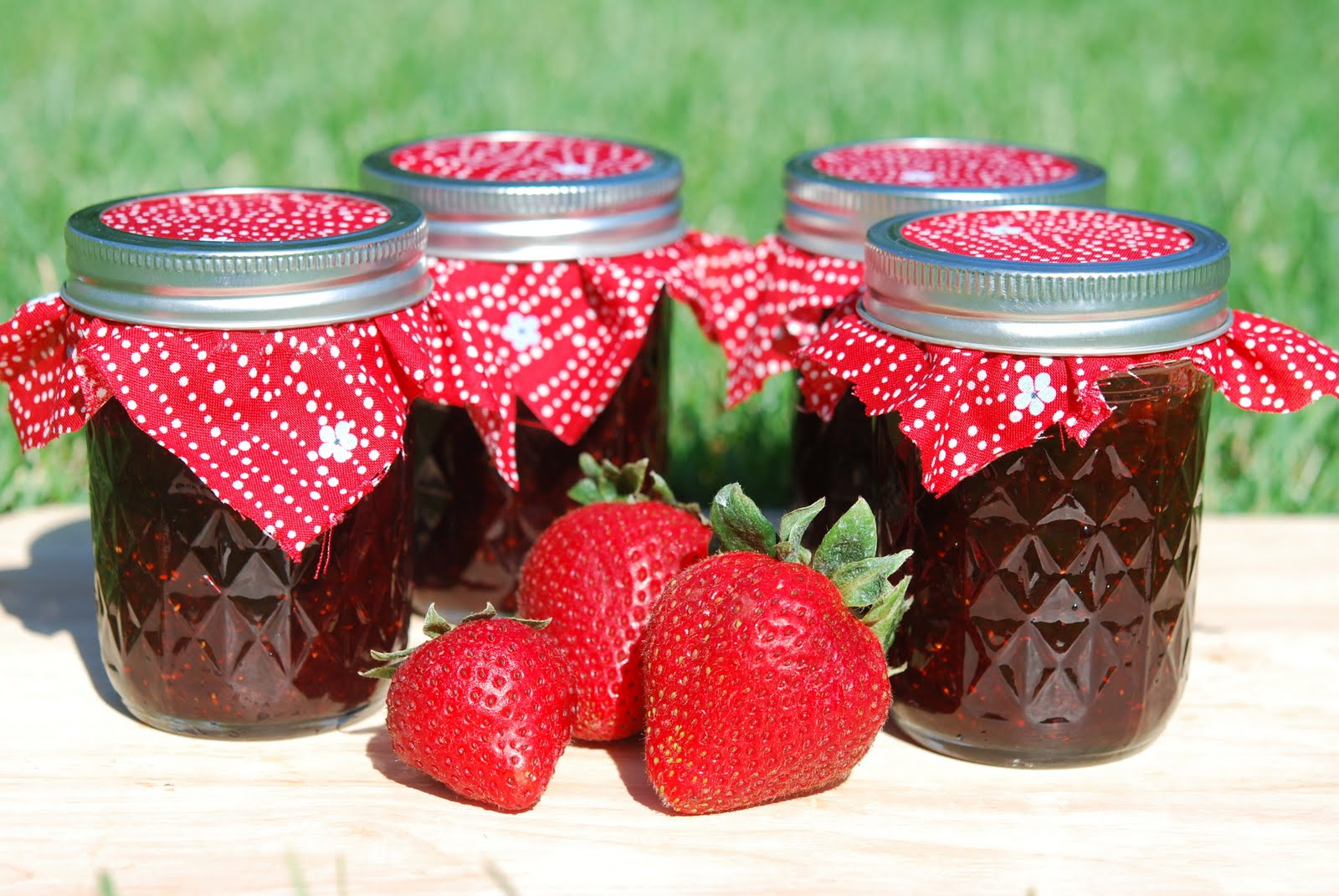 Recipes tips and techniques on jam making my easy menu - Jam without boiling easy made flavorful ...