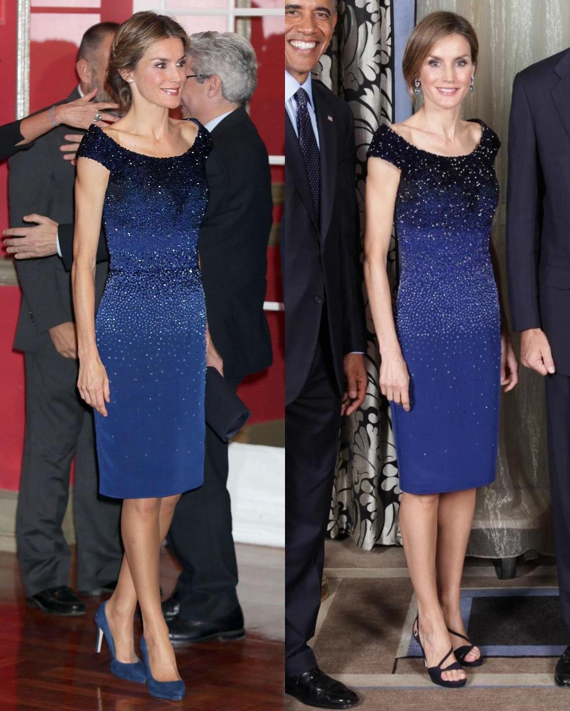 King Felipe & Queen Letizia - Dresses