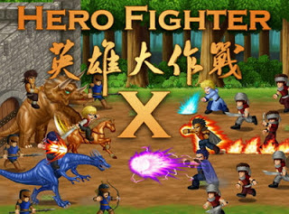 Hero Fighter X V1.08 APK MOD All Heroes Unlocked