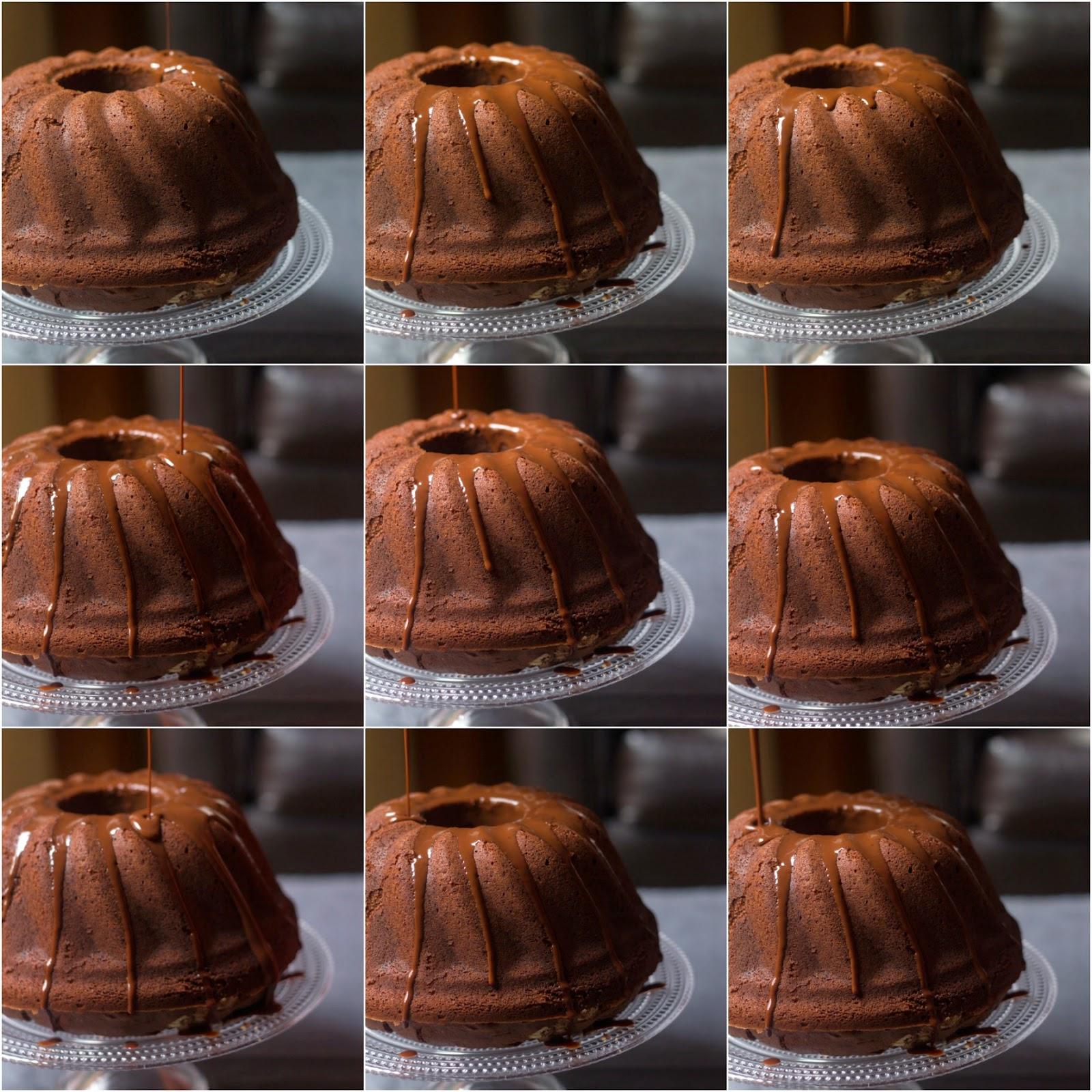 La lentezza di vivere: chocolate Bundt cake di Martha....ancora!