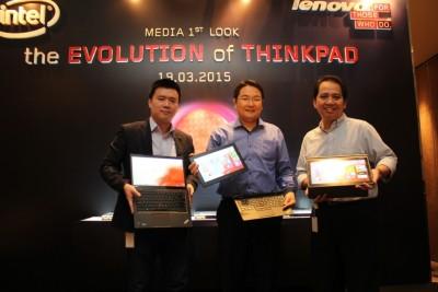 Lenovo Indonesia Umumkan Jajaran ThinkPad 2015 Terbaru