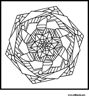 Empty Bird's Nest Coloring Page