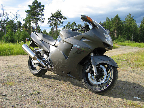 Gambar Sepeda Motor Honda CBR 1100xx Blackbird 07