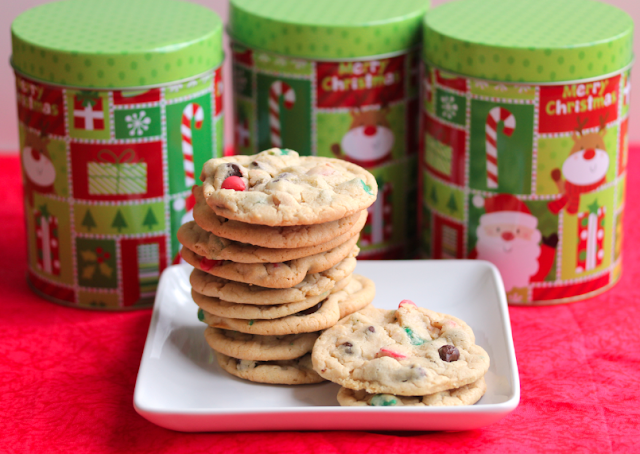 #fbcookieswap food blogger cookie swap christmas chip cookies