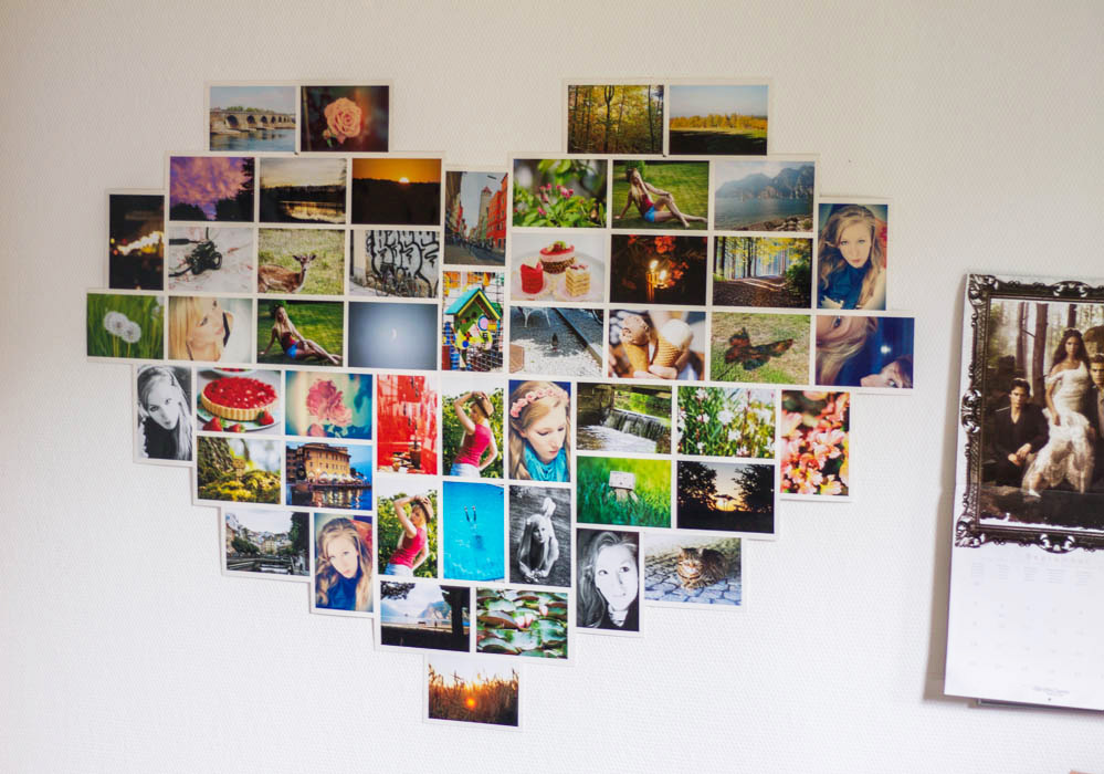 Coralinart lifestyle blog pictures on the wall - Bilder collage wand ...