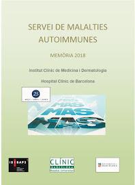 Servei de Malalties Autoimmunes-Memòria 2018