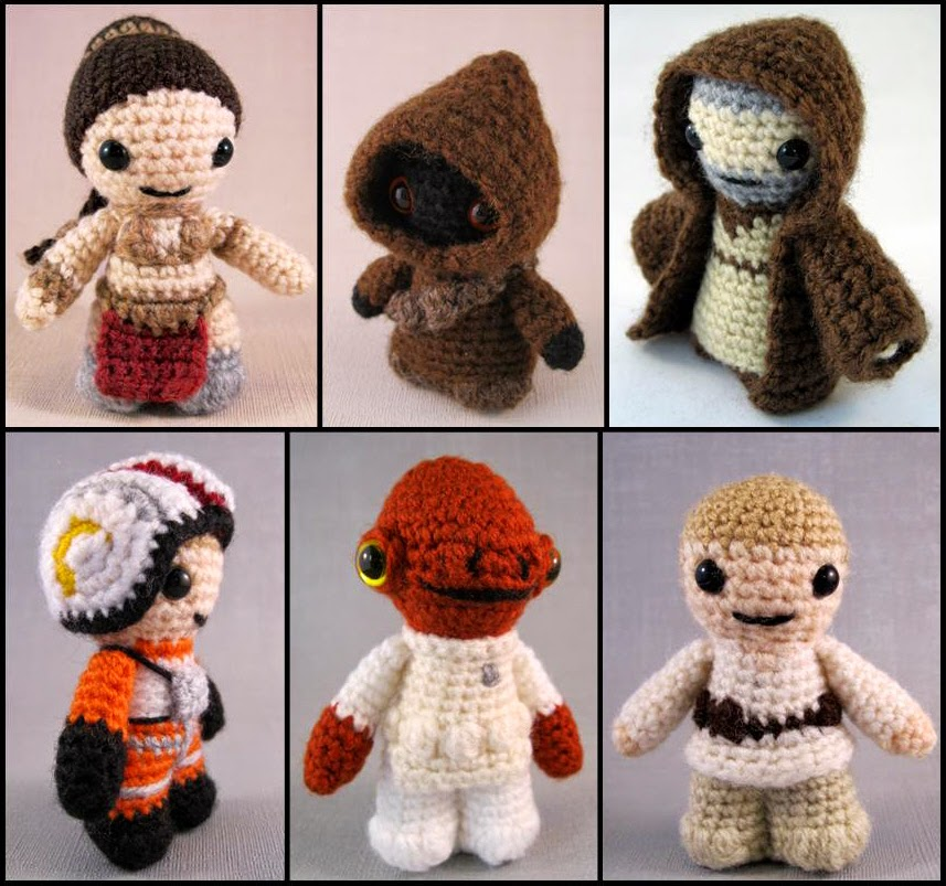 Free Star Wars Crochet Amigurumi Patterns : LucyRavenscar - Crochet Creatures: July 2014