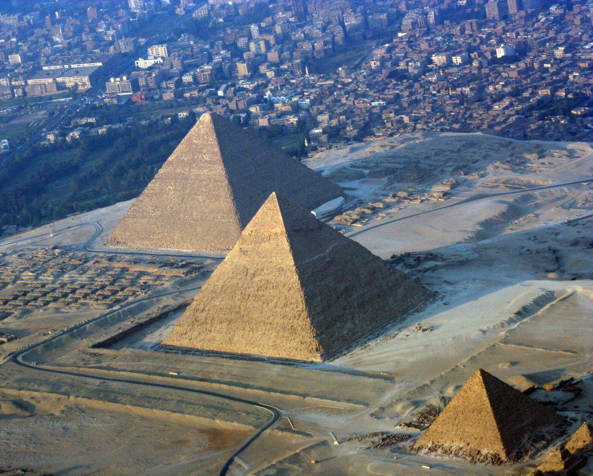 Image result for pyramids and their surroundings