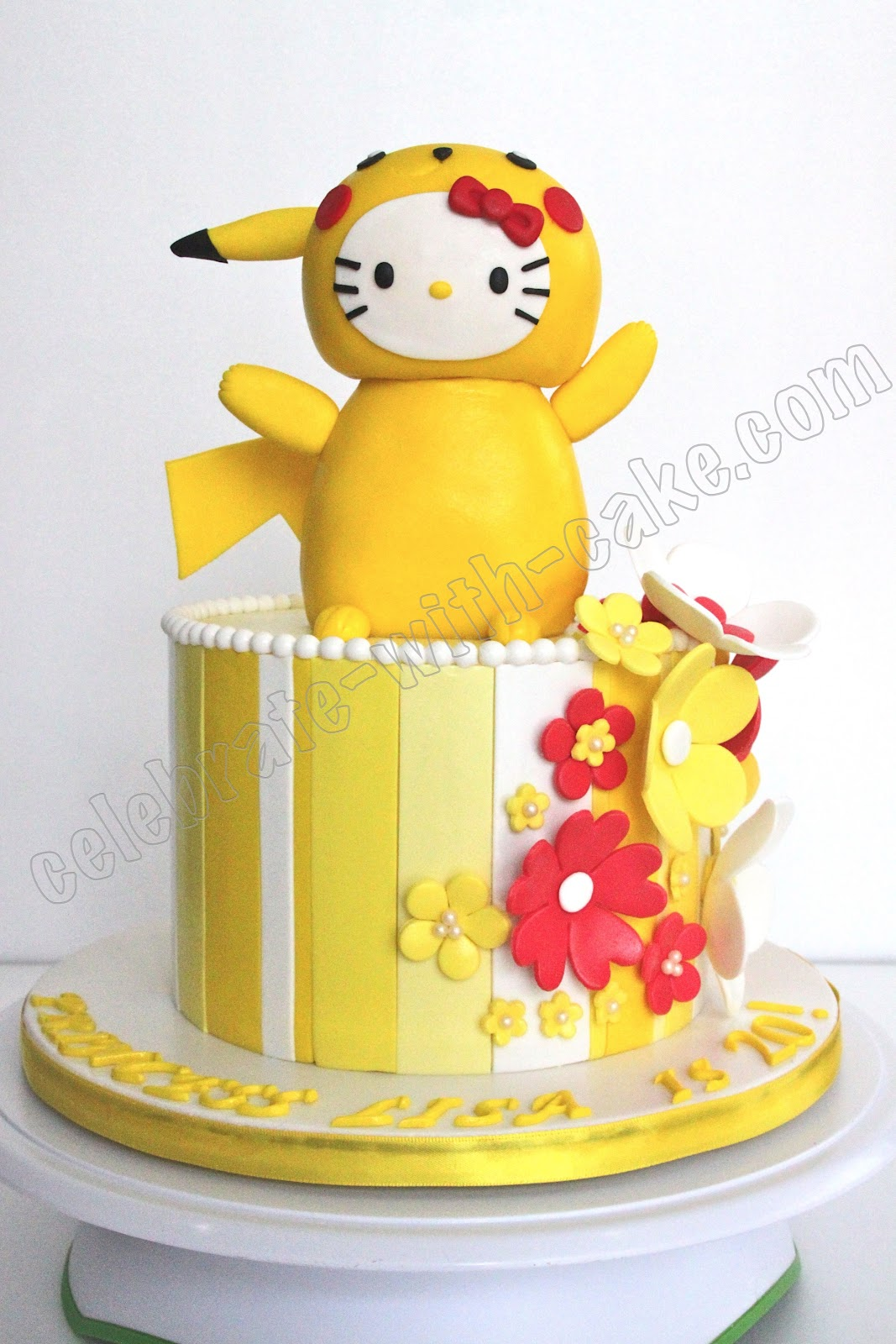Pikachu Birthday Cake Celebrate with Cake!: ...