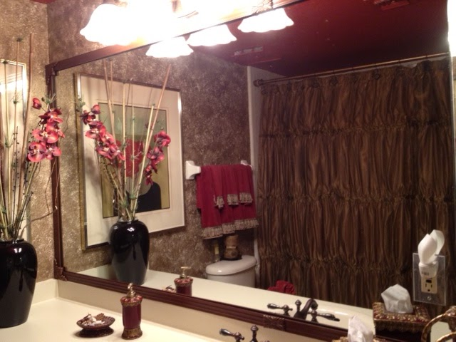 Mirredge do it yourself mirror framing system room looks so i just installed royal oak on our huge mirror in guest bathroom it made the room look so classy elegant the framing system was not difficult or solutioingenieria Images
