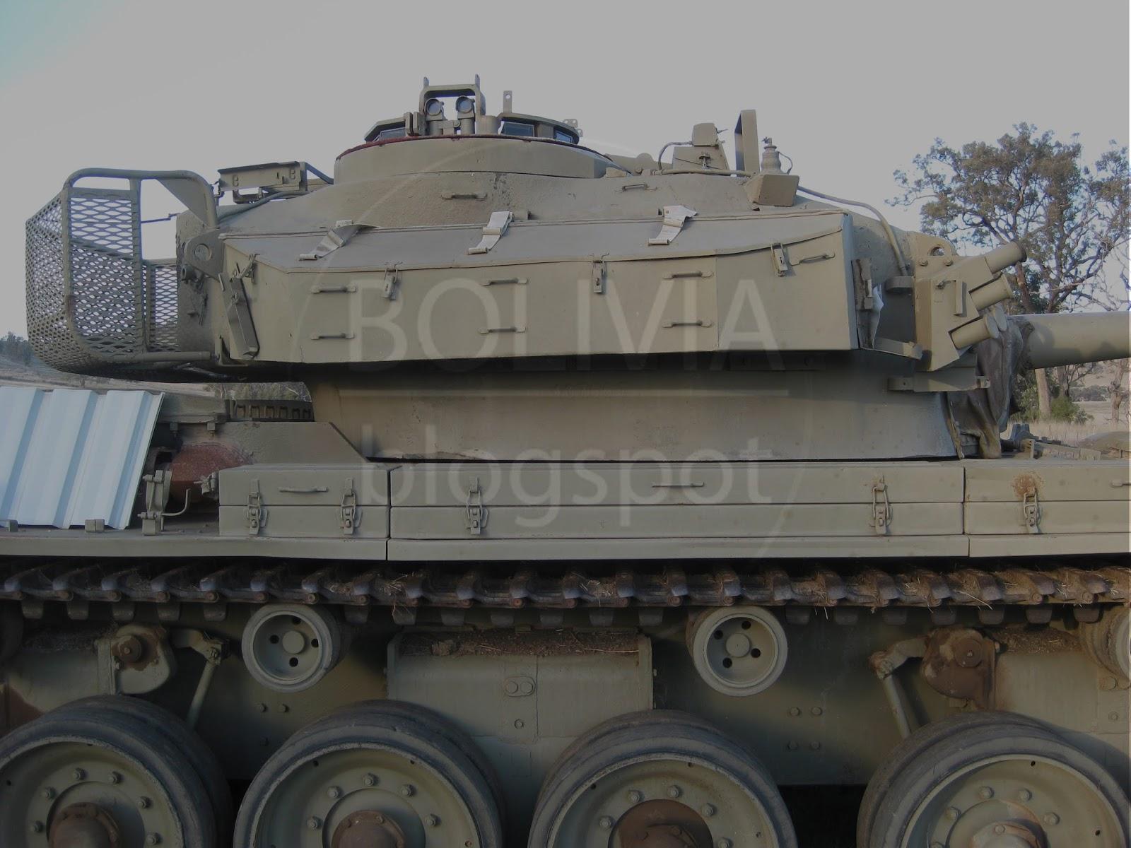 Bolivia Raac Centurion Tank