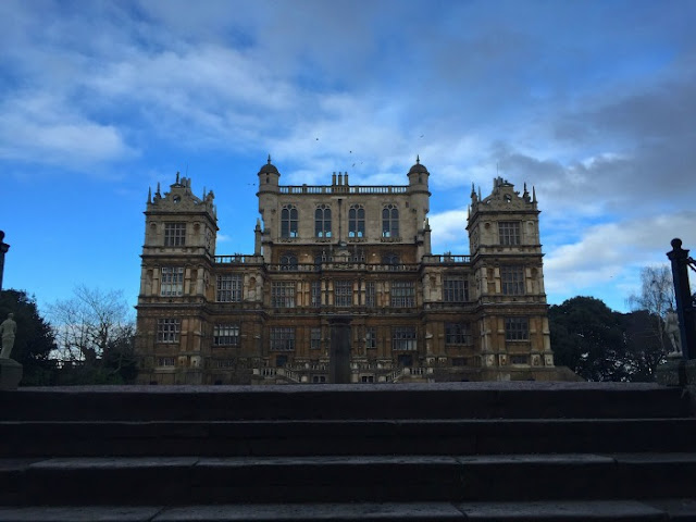 Morgan's Milieu | The Magic of Freedom: Wollaton Hall (round the back)