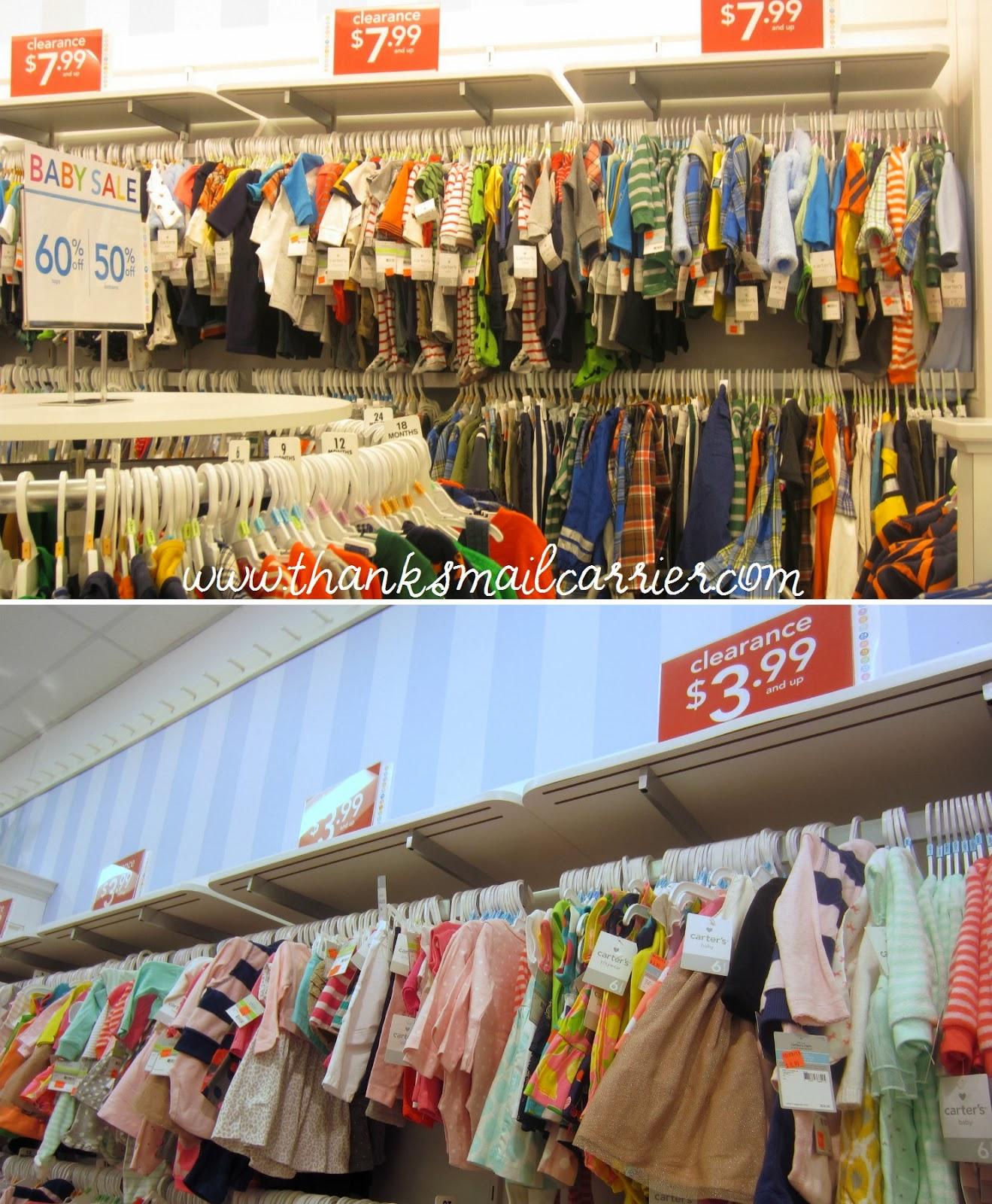Carter's sale