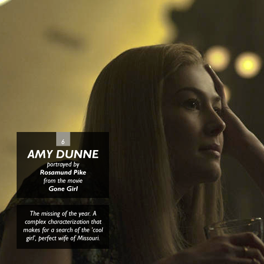 Amy Dunne from Gone Girl