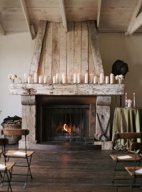 my scandinavian home cosy rustic fireplace