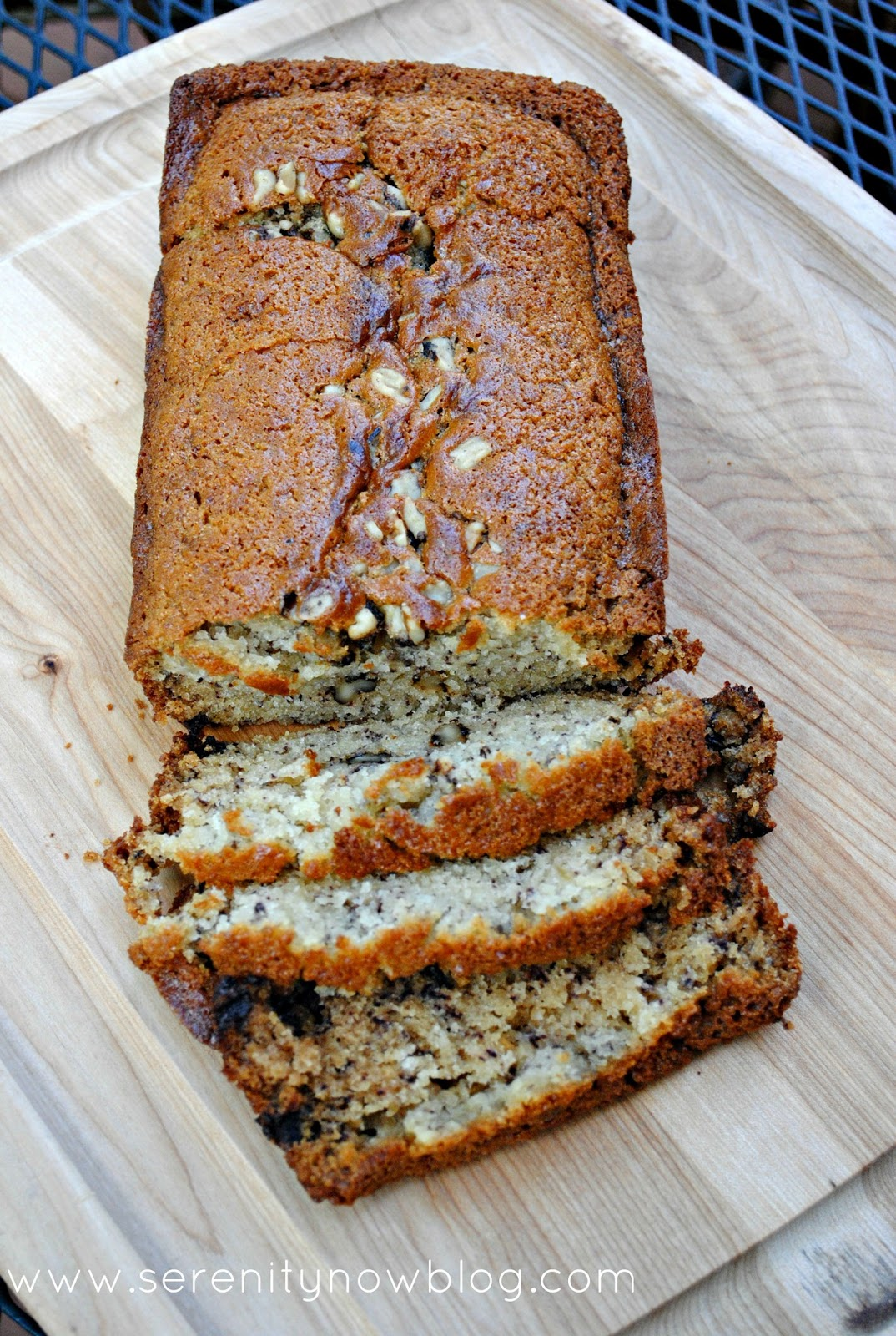 Serenity now banana bread recipe with one banana banana bread recipe with one banana from serenity now blog forumfinder Choice Image