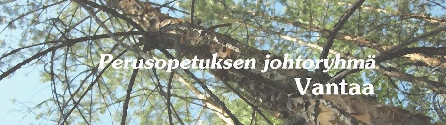 Perusopetuksen johtoryhmä Vantaa