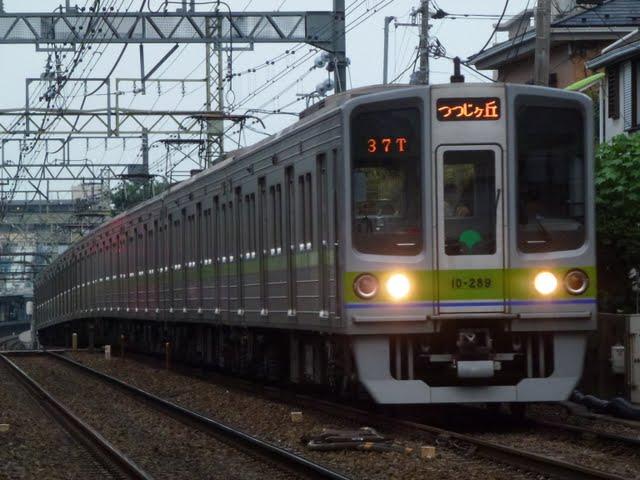 都営新宿線 各停 つつじヶ丘行き3 10-000形280F