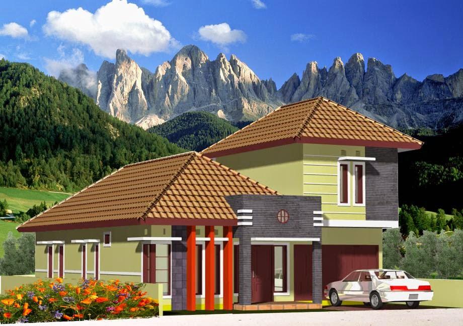 Atap Rumah Yang Kuat Model Limas