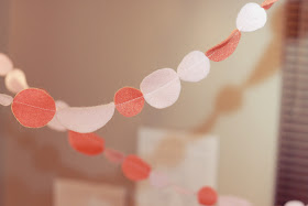 Circle Felt Garland