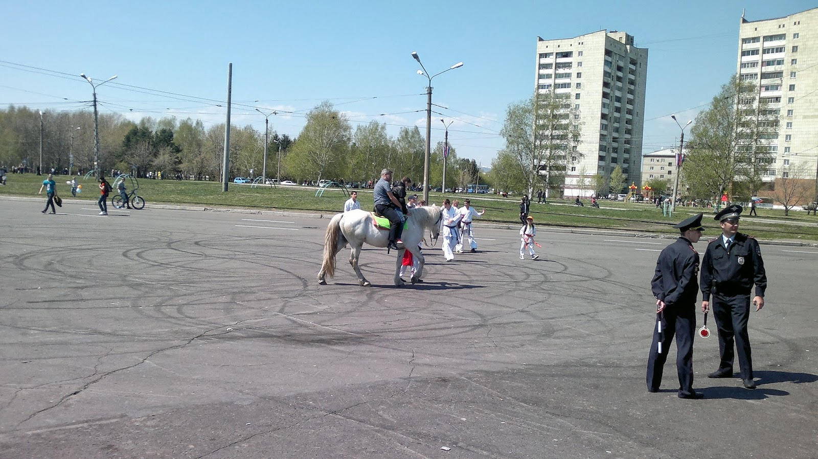 Набережная города Комсомольск на Амуре