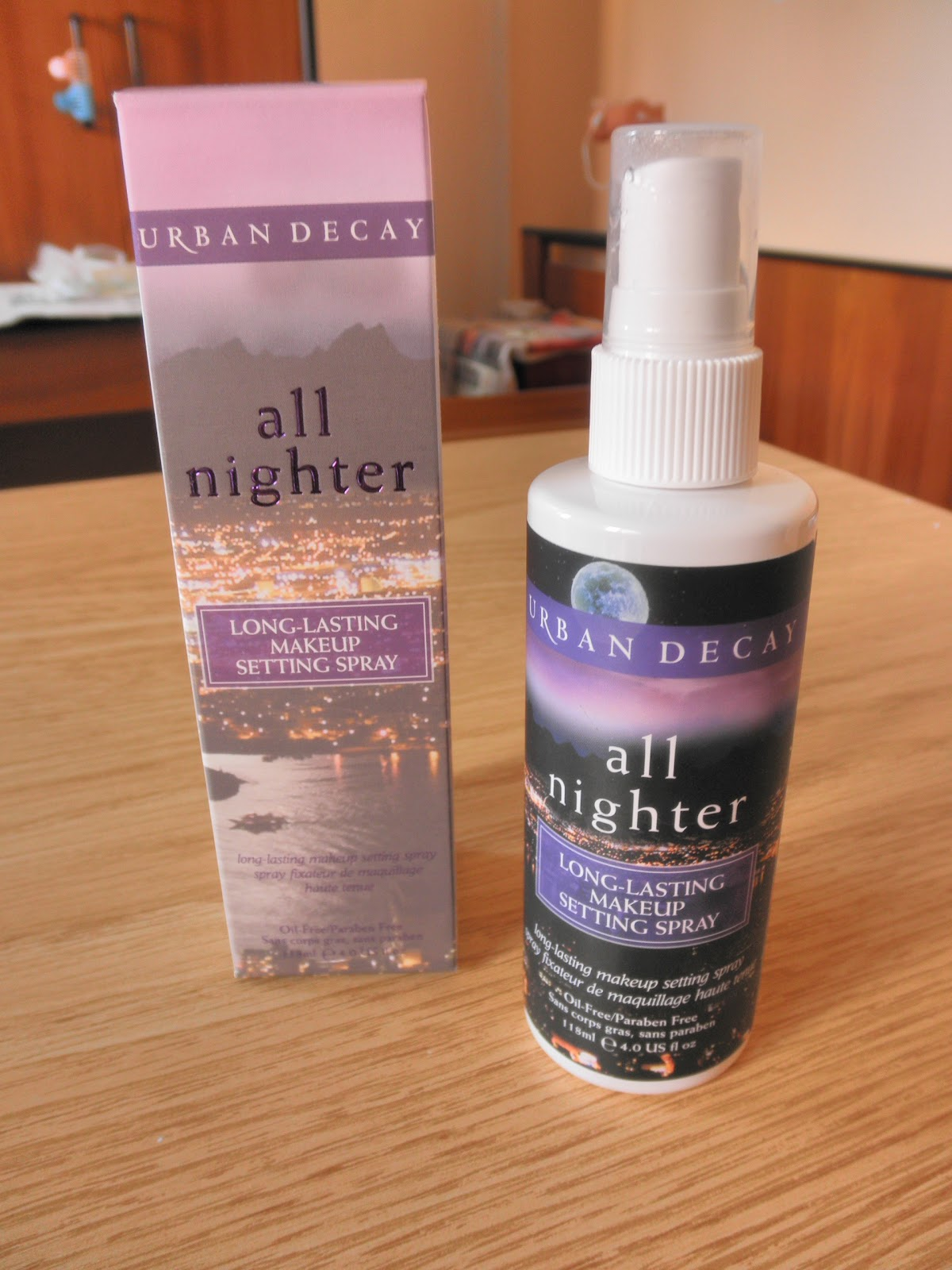 ... 101: Review: Urban Decay All Nighter Long-lasting Makeup Setting Spray