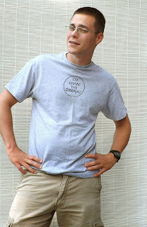 https://www.etsy.com/listing/155754988/living-the-dream-tshirt-mens-gray-t