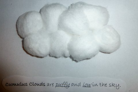 How to make clouds out of cotton balls gratis