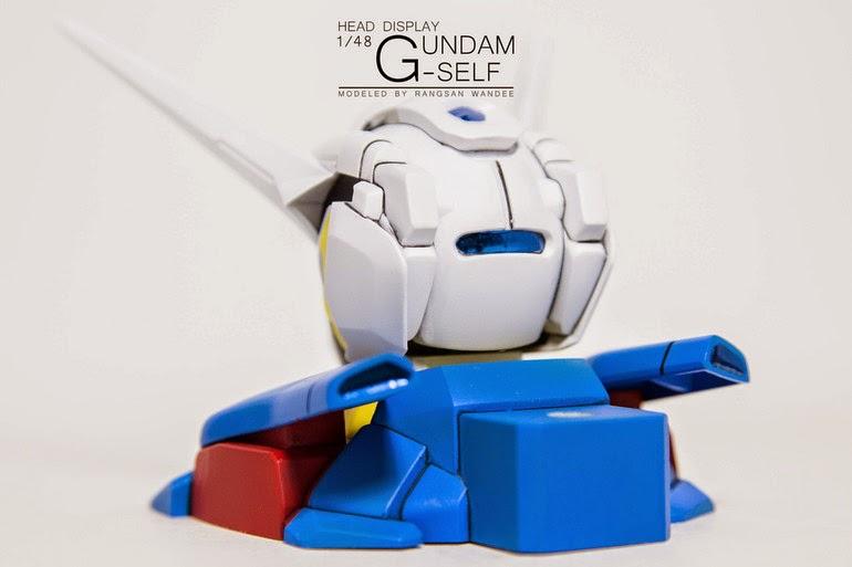 model kit g-self head
