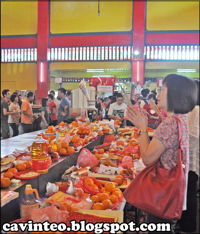 Entree Kibbles: Replenish Luck (??) @ Shuang Lin City God Temple ...