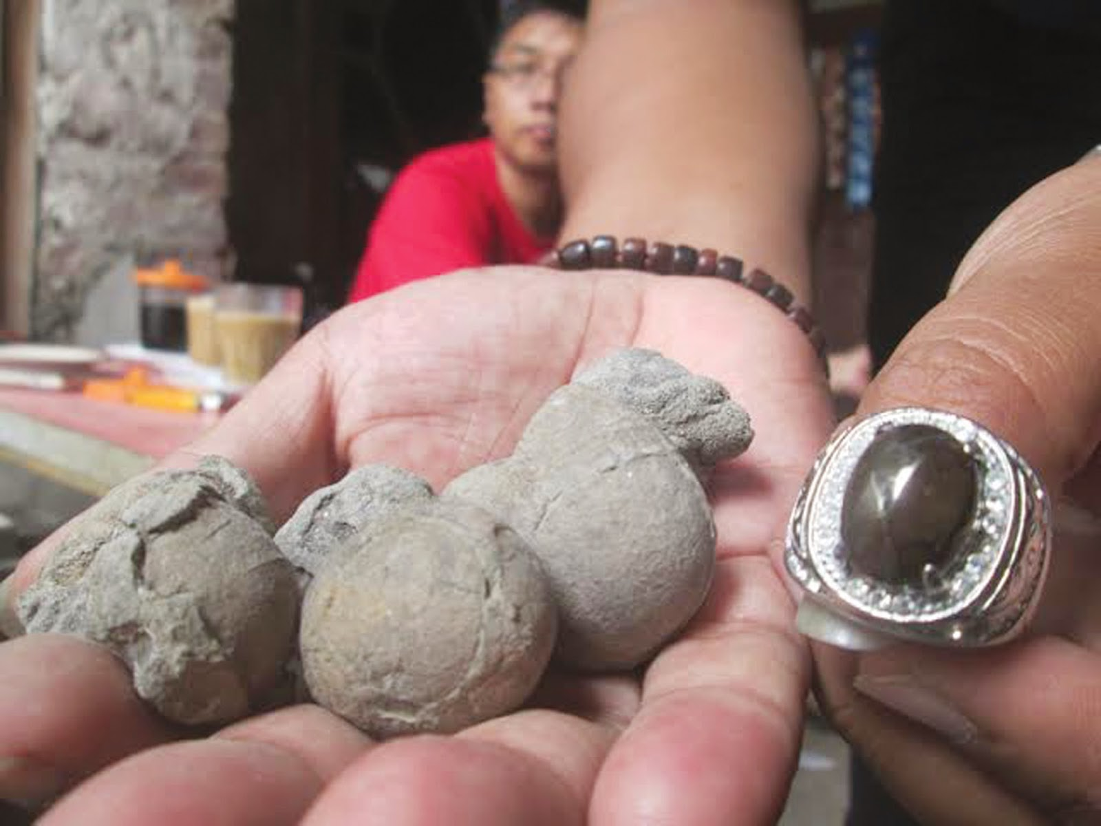 Batu Akik Jalasutra, Harta Karun Orang Pati