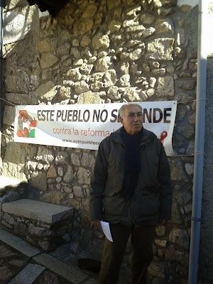 Monforte de la Sierra, este pueblo no se vende, contra la reforma local
