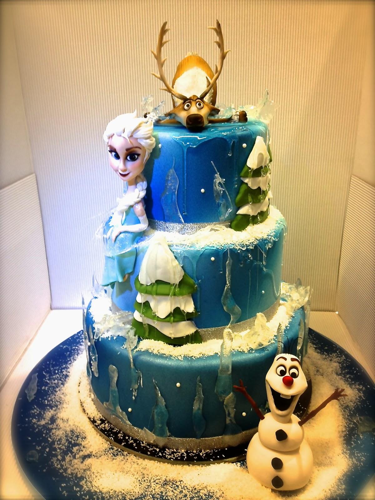 Cake Design Roma Piazza Scotti : Cake Designer: Torta Frozen
