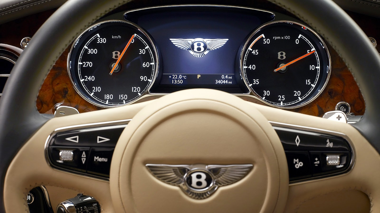 2010 Bentley Mulsanne - Grey Front And Side - 1024x768 - Wallpaper