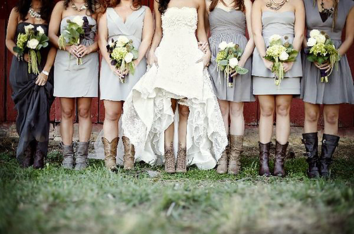 My wedding dress bridal boots ideas for Wedding dress with boots