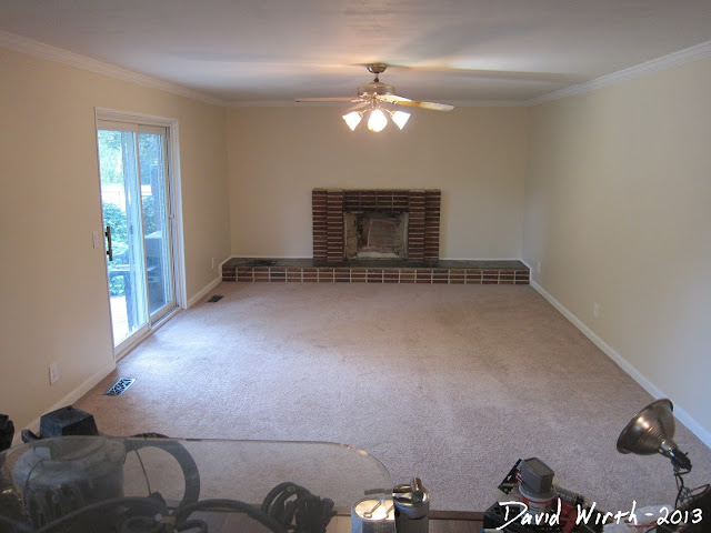finished family room, add value to a house, remodel