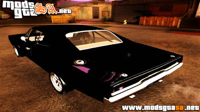 Dodge Charger RT 1970 do Fast & Furious