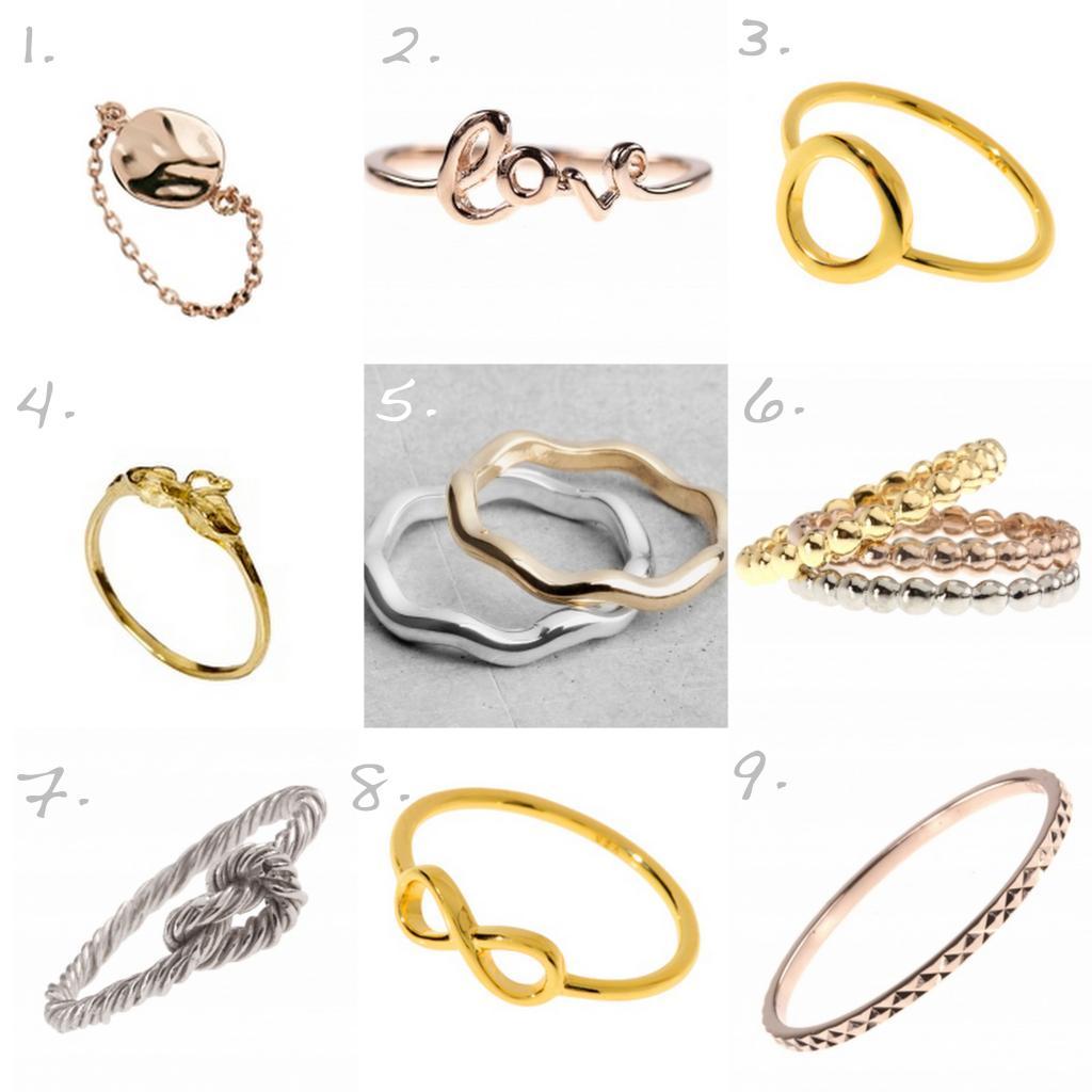Six schmuck ring  MODE] Fingerzeit! 9 Ringe unter 30 EUR. / FROHSINN