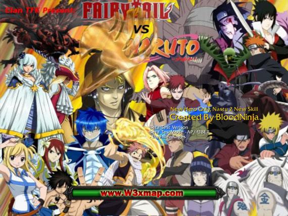 FairyTail Vs Naruto Shippuden V03