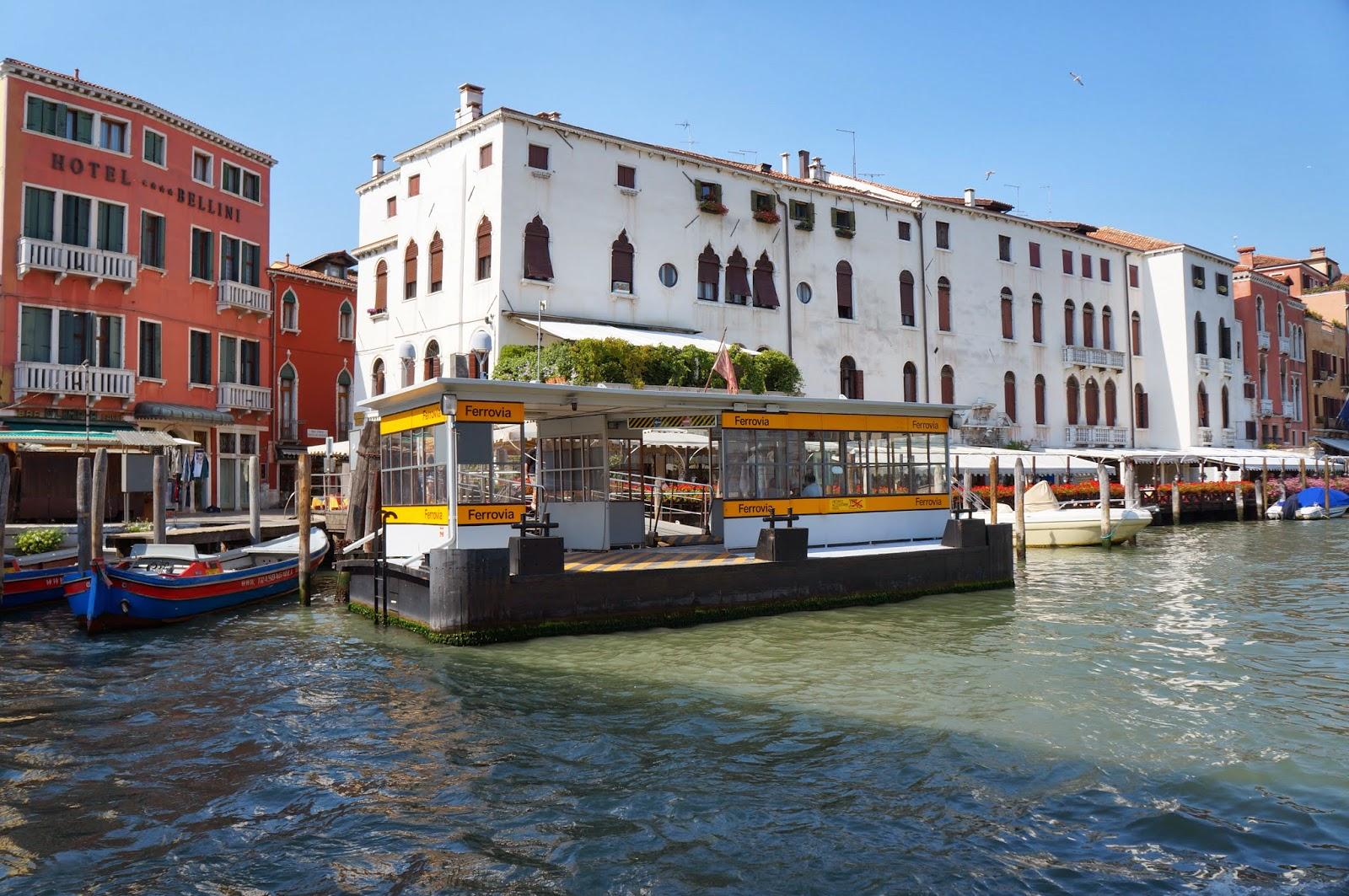 Остановки в Венеции
