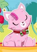 Котик Землянички - Онлайн игра для девочек