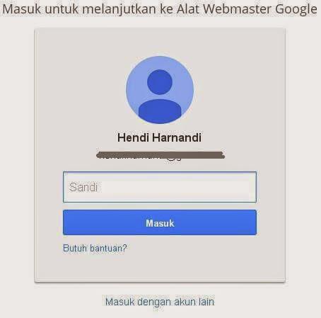 Cara Mendaftar di Google Master Tools