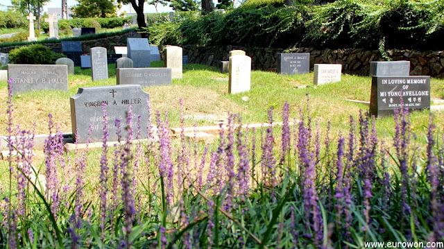 Cementerio de misioneros extranjeros Yanghwajin de Seúl