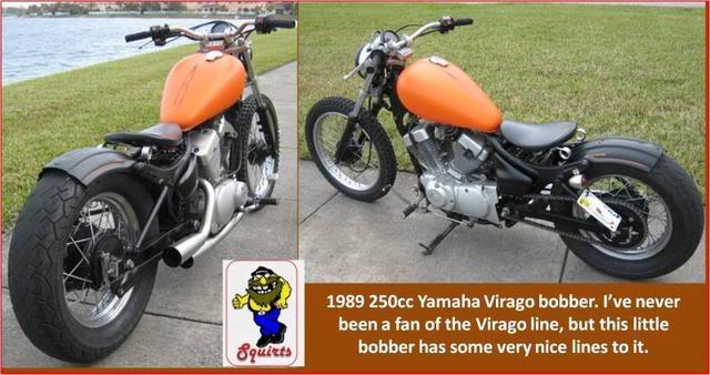 Bobber Kits Yamaha 250 Virago Yamaha Virago 250 Bobber Kit