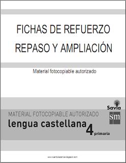FICHAS DE REFUERZO Y AMPLIACIÓN