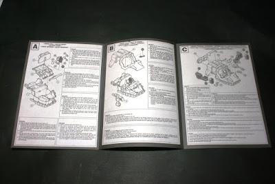 Instrucciones de montaje del Land Speeder Tifón