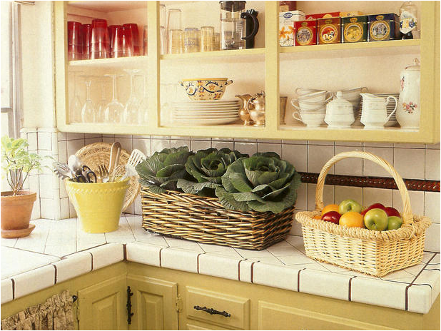 English country kitchen ideas room design inspirations for Country kitchen decor