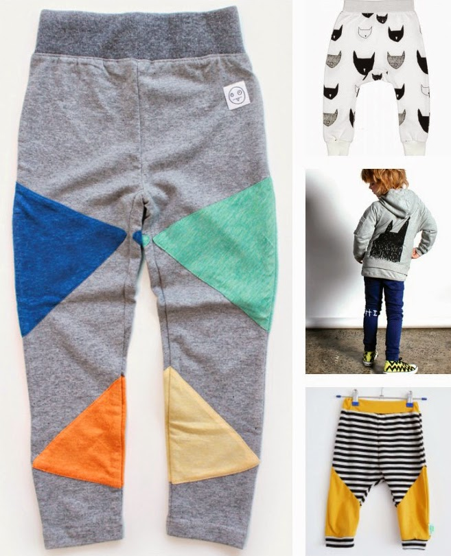 Coolest kids pants spring 2014 1: Indikidual 2: Beau Loves 3: Minti 4. Sloppop Yeah